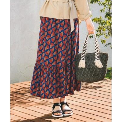 any SiS/エニィスィス 【L'aube】レーヨンブロード スカート ブルー 2