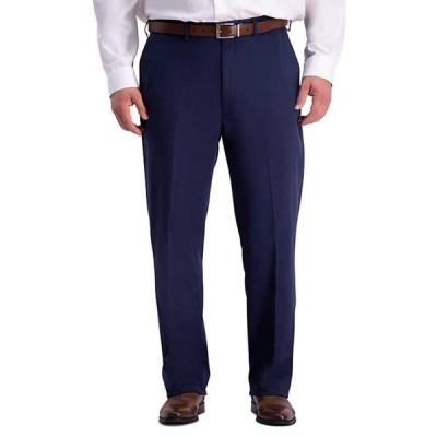 ハガー メンズ カジュアルパンツ ボトムス Haggar Big & Tall Work To Weekend PRO Relaxed Fit Flat Front Casual Pants
