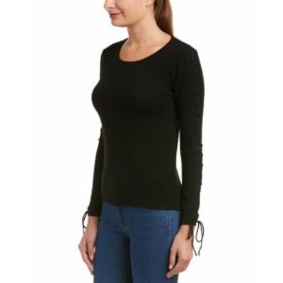 Quinn  ファッション トップス Quinn Cashmere Sweater M Black
