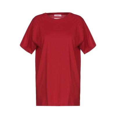 ヴァレンティノ VALENTINO T シャツ レッド S 100% コットン T シャツ