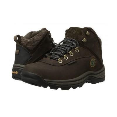 Timberland ティンバーランド メンズ 男性用 シューズ 靴 ブーツ レースアップ 編み上げ White Ledge Mid Waterproof - Brown
