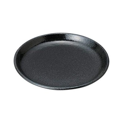 結彩の蔵 大皿 豊明 黒耀 直径24.4cm ツ460-126