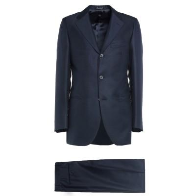 RIVIERA Milano スーツ ダークブルー 46 シルク 50% / バージンウール 50% スーツ