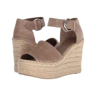Marc Fisher LTD Alida Espadrille Wedge レディース ヒール パンプス Taupe Suede