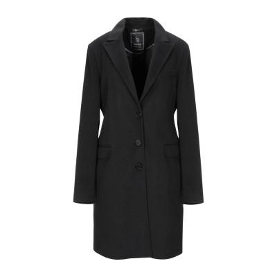HANITA コート ブラック 44 レーヨン 100% コート