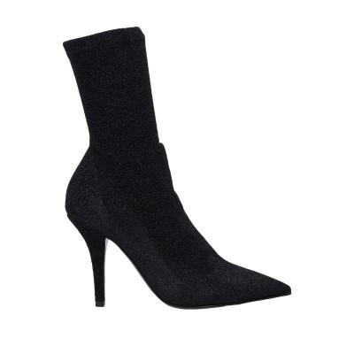 OVYE' by CRISTINA LUCCHI ショートブーツ ブラック 37 紡績繊維 ショートブーツ