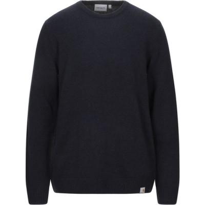 カーハート CARHARTT メンズ ニット・セーター トップス sweater Dark blue