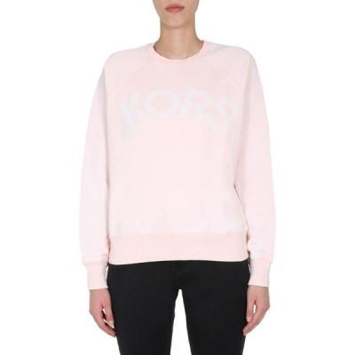 マイケルコース レディース ニット&セーター アウター Michael Michael Kors Embellished Logo Sweatshirt -