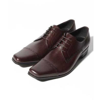 【クラウン製靴】 ストレートチップシューズ メンズ ダーク ブラウン 26.5 CROWN SHOE CO.、LTD.