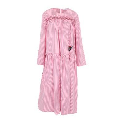 VIVETTA 7分丈ワンピース・ドレス フューシャ 38 コットン 100% 7分丈ワンピース・ドレス
