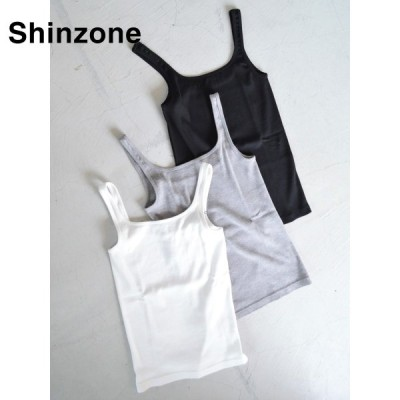 【THE SHINZONE|ザ シンゾーン】sale セール10%off リブキャミソール/18SMSCU51