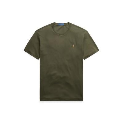 POLO RALPH LAUREN T シャツ ミリタリーグリーン S コットン 100% T シャツ