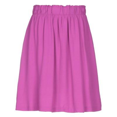 SELECTED FEMME ミニスカート フューシャ 36 レーヨン 100% ミニスカート