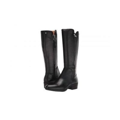 Pikolinos レディース 女性用 シューズ 靴 ブーツ ロングブーツ Daroca W1U-9653 - Black