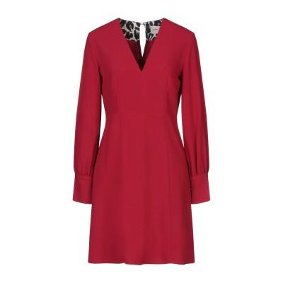 メルシー ..,MERCI ミニワンピース&ドレス レッド 40 ポリエステル 95% / レーヨン 5% ミニワンピース&ドレス