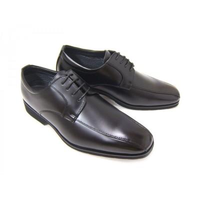 ZN8007 @ZINO/アットジーノ 紳士靴 スワールモカ 外羽根 撥水 軽量 消臭  ビジネス ブラック