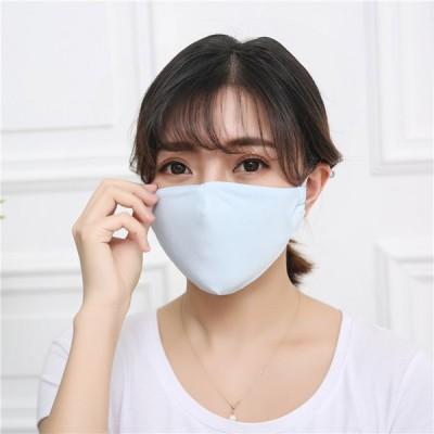冷感マスク 3枚セット 夏用マスク マスク 大人用 ひんやり 涼しい 洗えるマスク 長さ調整可能 接触冷感 洗える 飛沫防止 UVカット 男女兼用