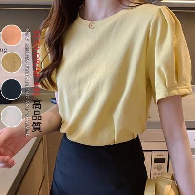 【送料無料】先着限定SALE2020韓国ファッション夏新作Tシャツ大人上品/可愛いオシャレTシャツ