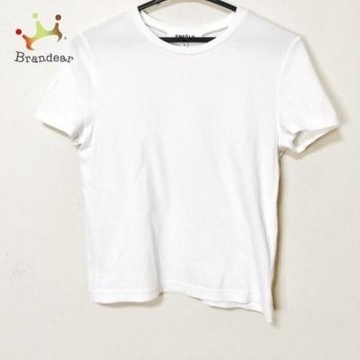 エンフォルド ENFOLD 半袖Tシャツ サイズ36 S レディース - 白  値下げ 20210914
