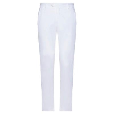 GIANNI LUPO パンツ ホワイト 30 コットン 98% / ポリウレタン 2% パンツ