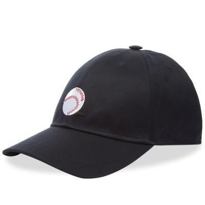 トム ブラウン Thom Browne メンズ キャップ ベースボールキャップ 帽子 Baseball Icon Twill Cap Navy