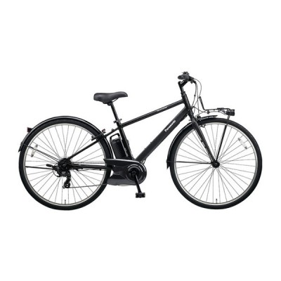 PANASONIC BE-ELVS772-B ミッドナイトブラック ベロスター [電動アシスト自転車(700C・外装7段変速)] 電動自転車