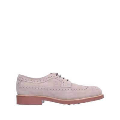 トッズ TOD'S メンズ シューズ・靴 laced shoes Dove grey