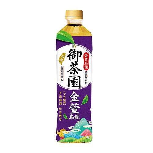 御茶園金萱烏龍PET550ml
