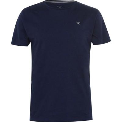 ハケット Hackett メンズ Tシャツ トップス Short Sleeve Logo T-Shirt Navy/GreyCY