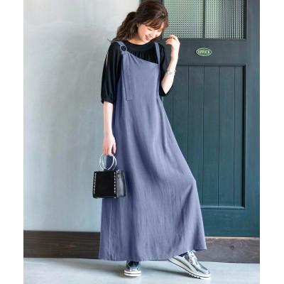 【大きいサイズ】 レーヨン混アシンメトリーワンピース ワンピース, plus size dress
