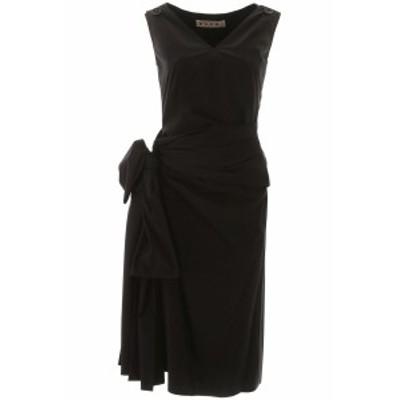 MARNI/マルニ ドレス BLACK Marni draped dress レディース 春夏2020 ABMA0436HUTCW64 ik