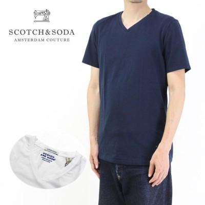 SCOTCH&SODA スコッチアンドソーダ 半袖Tシャツ V-NECK T-SHIRT 149006 292-74417