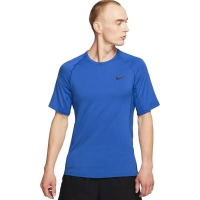 ナイキ Nike メンズ ハイキング・登山 トップス Pro Slim Short-Sleeve Top Game Royal/Black
