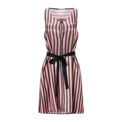 RUE•8ISQUIT ミニワンピース&ドレス ピンク 46 アセテート 58% / レーヨン 42% ミニワンピース&ドレス