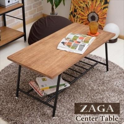 アンティーク センターテーブル ローテーブル木製 リビングテーブル パイプ テーブル アンティーク調 桐 木製 アイアン