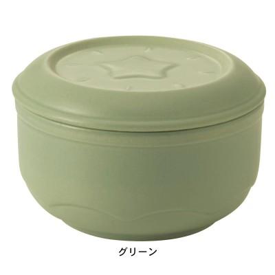 """刻みネギをシャキッと保存できる陶製容器""""ねぎっこ""""<グリーンのみ>"""