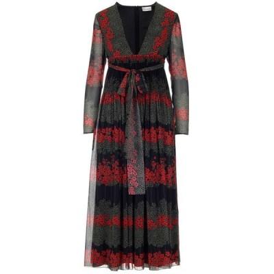 レッドヴァレンティノ レディース ワンピース トップス REDValentino Floral Print Maxi Dress -