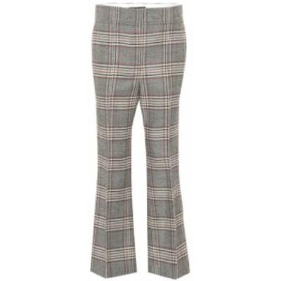 ジョゼフ Joseph レディース ボトムス・パンツ Ridge checked wool pants multicolour