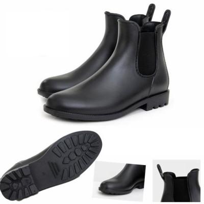 レインブーツ メンズ サイドゴアブーツ サイドゴアショートブーツ ショートブーツ 防水 レインシューズ シューズ 雨靴