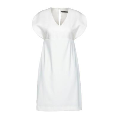 ブライアン デールズ BRIAN DALES ミニワンピース&ドレス ホワイト 44 コットン 50% / レーヨン 50% ミニワンピース&ドレス