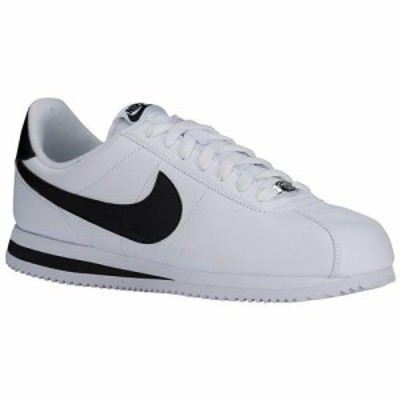 NIKE ナイキ メンズ コルテッツ スニーカー Nike Men's Cortez Shoes White Metallic Silver Black 送料無料