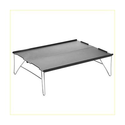 Rxan Folding Camping Table, Mini Aluminum Alloy Folding Table Portable Mountaineering Camping Barbecue Tent Desk Table【並行輸入品】