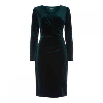 ラルフ ローレン Lauren Ralph Lauren Occasion レディース ワンピース ワンピース・ドレス Torelana Long Sleeve Dress Green