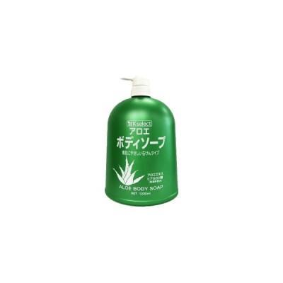 日本石鹸 k-select アロエボディソープ 1200ml