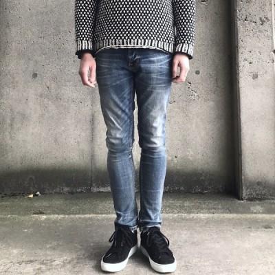 ヌーディージーンズ nudie jeans デニム TIGHT TERRY - MAYOR REPLICA - 48161-1114