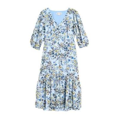 ナネットレポー レディース ワンピース トップス Floral Midi Dress WINDBL3021