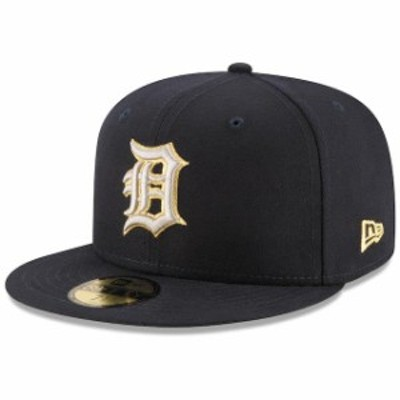 New Era ニュー エラ スポーツ用品  New Era Detroit Tigers Navy Finest 59FIFTY Fitted Hat