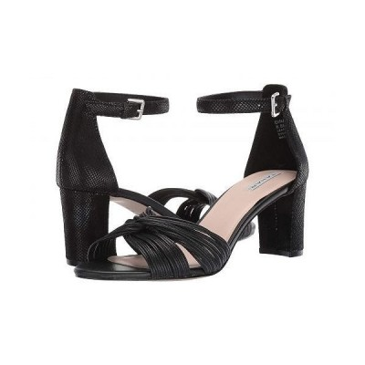 Tahari タハリ レディース 女性用 シューズ 靴 ヒール Dinara Heeled Sandal - Black Leather