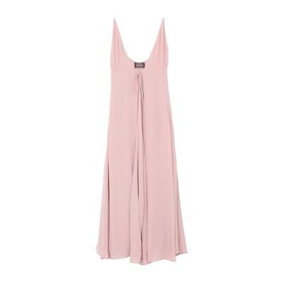 REFORMATION ロングワンピース&ドレス パステルピンク 12 レーヨン 100% ロングワンピース&ドレス
