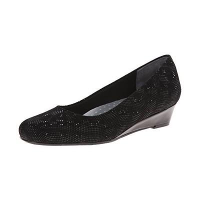 TrottersレディースLaurenドレスウェッジ カラー: ブラック